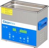 Cleanitex CXD3 - 3 liter set | Professionele ultrasoon reiniger met een krachtige reiniging (Ultrasoonbad, ultrasoon baden, reinigingsbad, ultrasone reiniger, reinigers, ultrasonic cleaner sieraden, brillen apparaat, pedicure)
