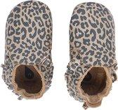 Bobux Babyslofjes Soft Soles Gold Leopard Print - Medium