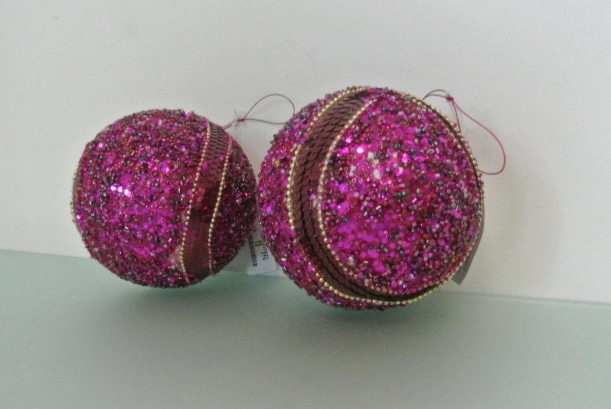 Roze Kerstballen kopen