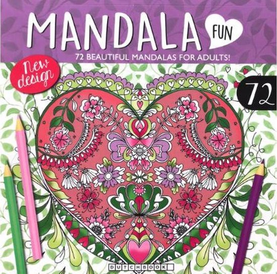 Afbeelding van Mandala Kleurboek Voor Volwassenen - 72 Kleurplaten