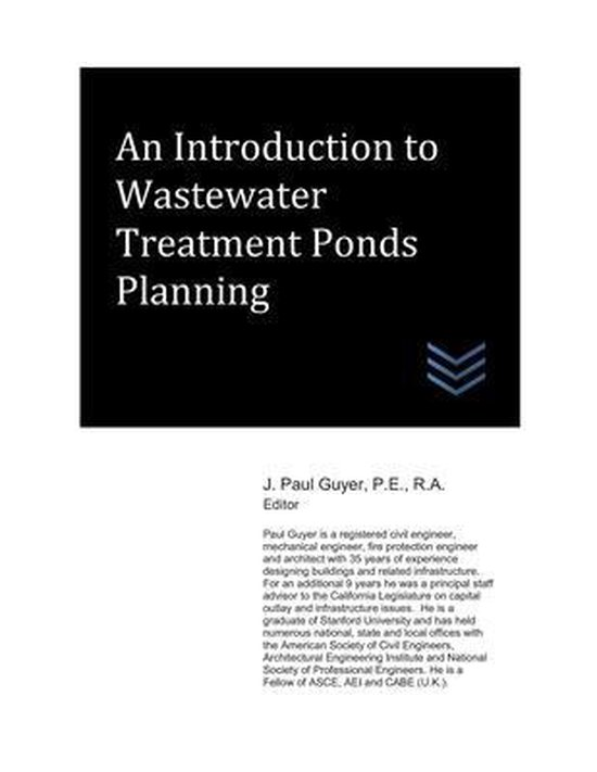 An Introduction to Wastewater Treatment Ponds Planning