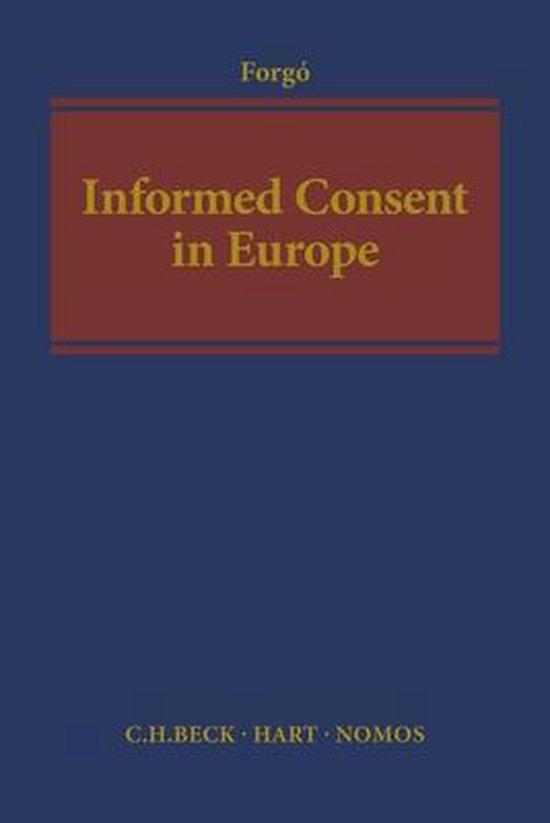 Afbeelding van Informed Consent in Europe
