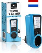 Energiemeter met LED - Energiekosten - Verbruiksmeter - Elektriciteitsmeter - kWh - Watt - Stroomverbruik - Energieverbruiksmeter