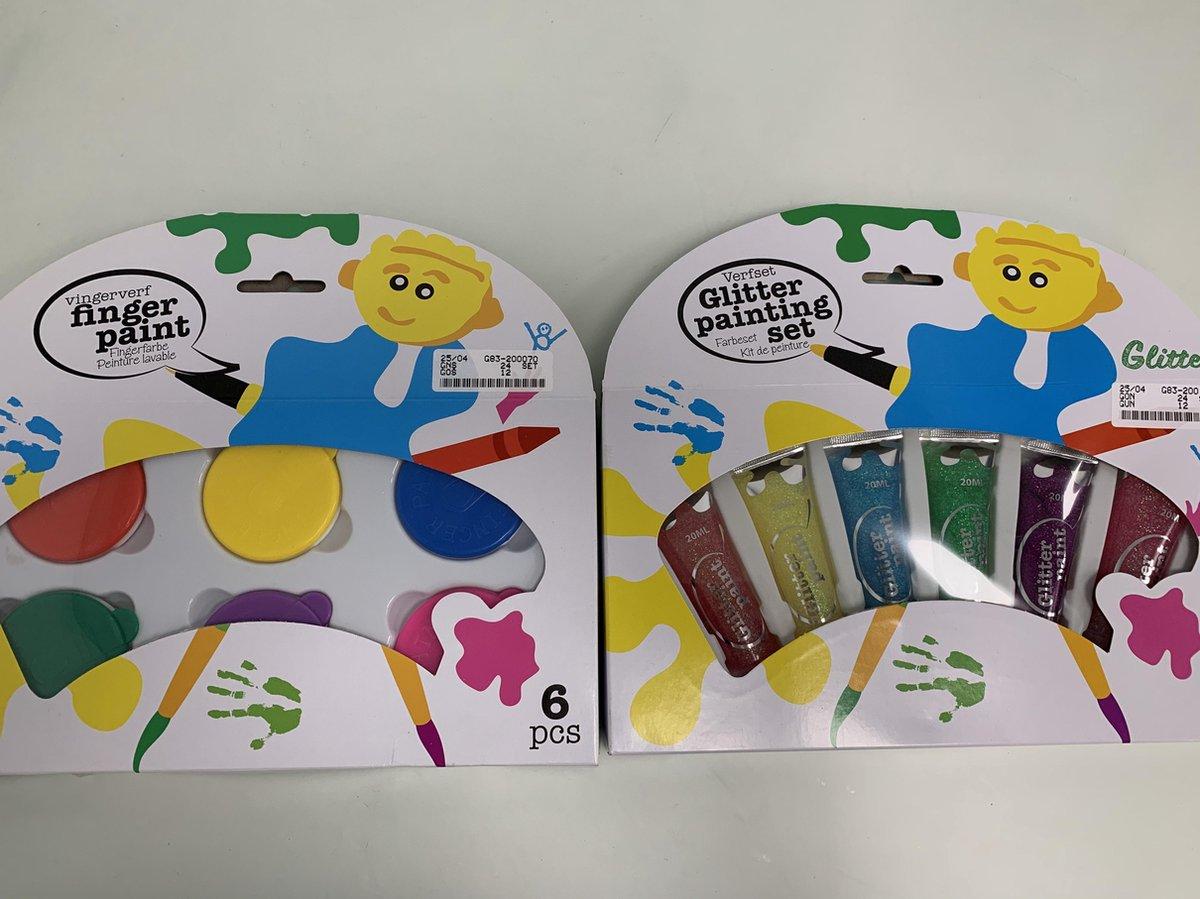 Finger painting sets 2 stuks kopen