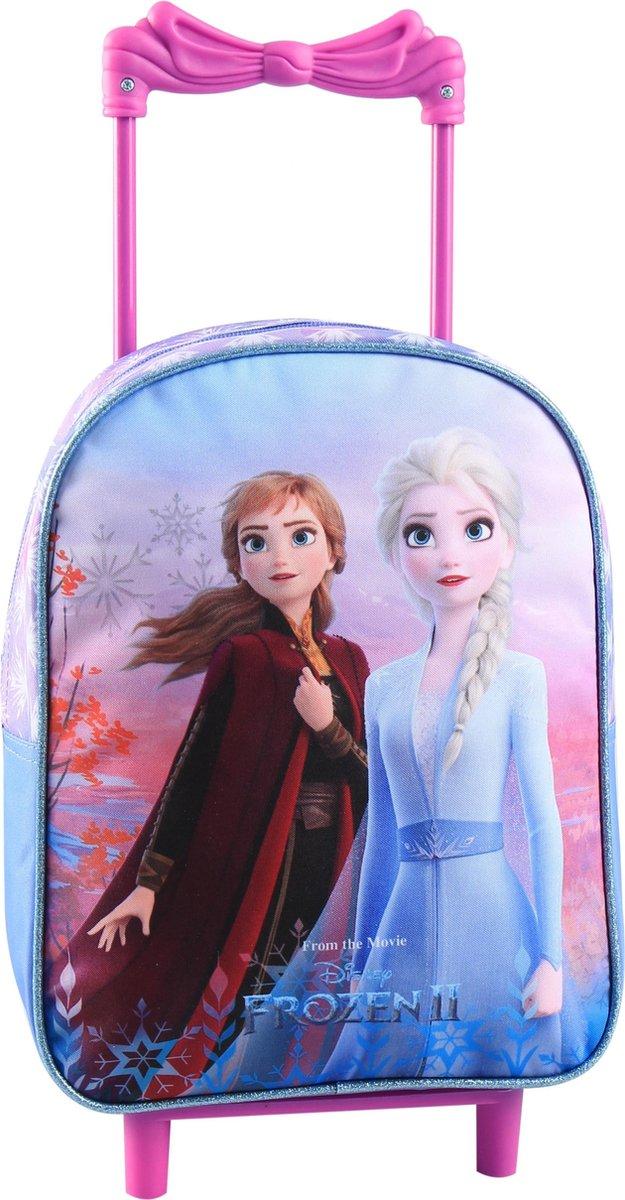 Frozen 2 ANNA & ELSA Trolley Koffer Logeren Vakantie Roze Blauw Lief kopen