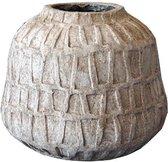 PTMD Pot L Timon bruin 25x21x25 cm