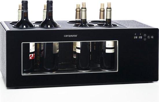 Koelkast: Cavanova OW8CS Toogkoeler voor 8 flessen, van het merk Cavanova