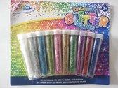 Glitterbuisjes set van 10