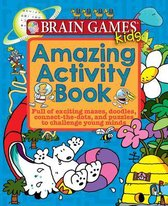 Brain Games Kids - Amazing Activity Book - 40 Pages Pi Kids