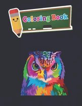 Coloring Book: 100 Animals for Stress Relieving Designs Animals, Flowers, Patterns And So Much More For Adults and kids - 8 x10 inche