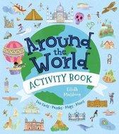 Boek cover Around the World Activity Book van Anna Brett