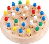 Memory Chess   Educatief Speelgoed   Houten Geheugen Schaakspel   Memo Schaak Spel
