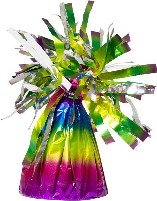 Ballon Gewicht Regenboog 170 gram