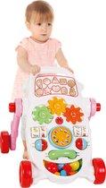 Loopwagen - Roze - Baby walker - Baby speelgoed - Loopsteun kind - Leren lopen