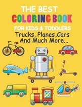 The Best Coloring Book For Kids & Toddlers