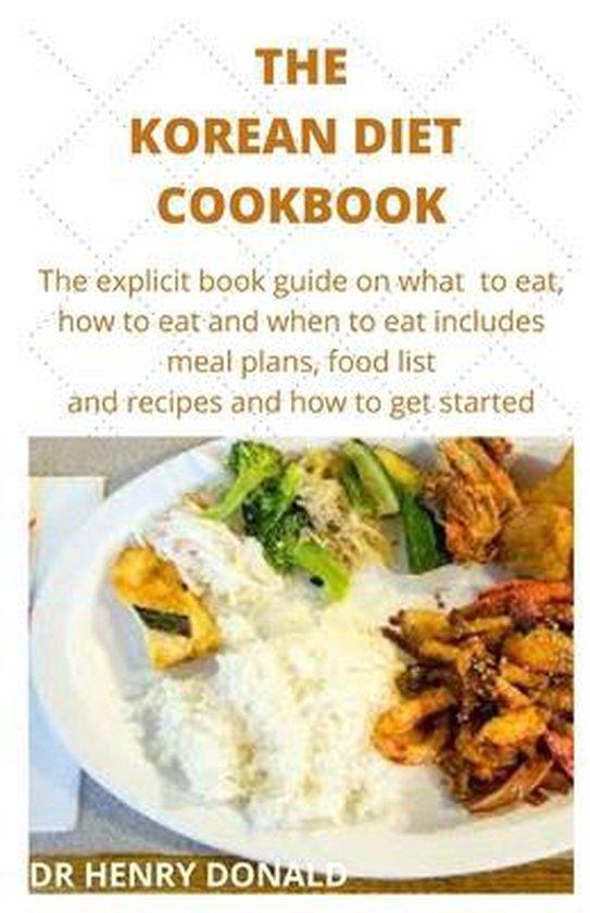 The Korean Diet Cookbook