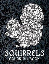 Squirrels - Coloring Book