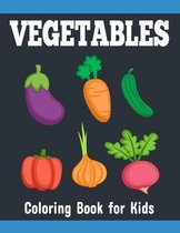 Vegetables Coloring Book for Kids