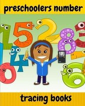 preschoolers number tracing books