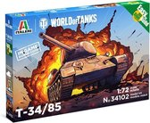 Italeri - World Of Tanks T34/85 1:72 (Ita34102)