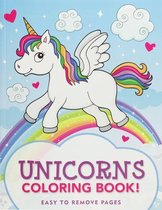 Unicorns Coloring Book