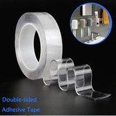 Nano tape 5 meter  Hoge kwaliteit - Herbruikbaar - Magic gekko nanotape - Dubbelzijdige tape - Transparant