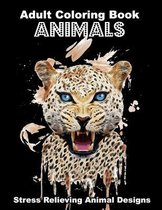 Animals Adult Coloring Book Stress Relieving Animal Designs