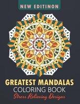 Greatest Mandalas Coloring Book