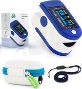 Datoza® Saturatiemeter - met Hartslagmeter en Zuurstofmeter