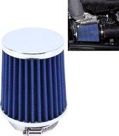 HKS 5cm universele paddestoel hoofd stijl luchtfilter voor auto (blauw)