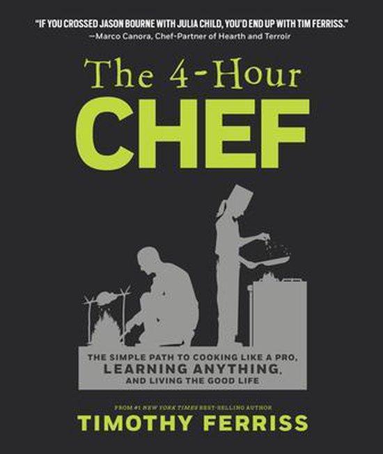 Boek cover The 4-Hour Chef van Timothy Ferriss (Hardcover)