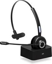 YONO Professionele Headset met Microfoon – Bluetooth Koptelefoon Draadloos met Laadstation