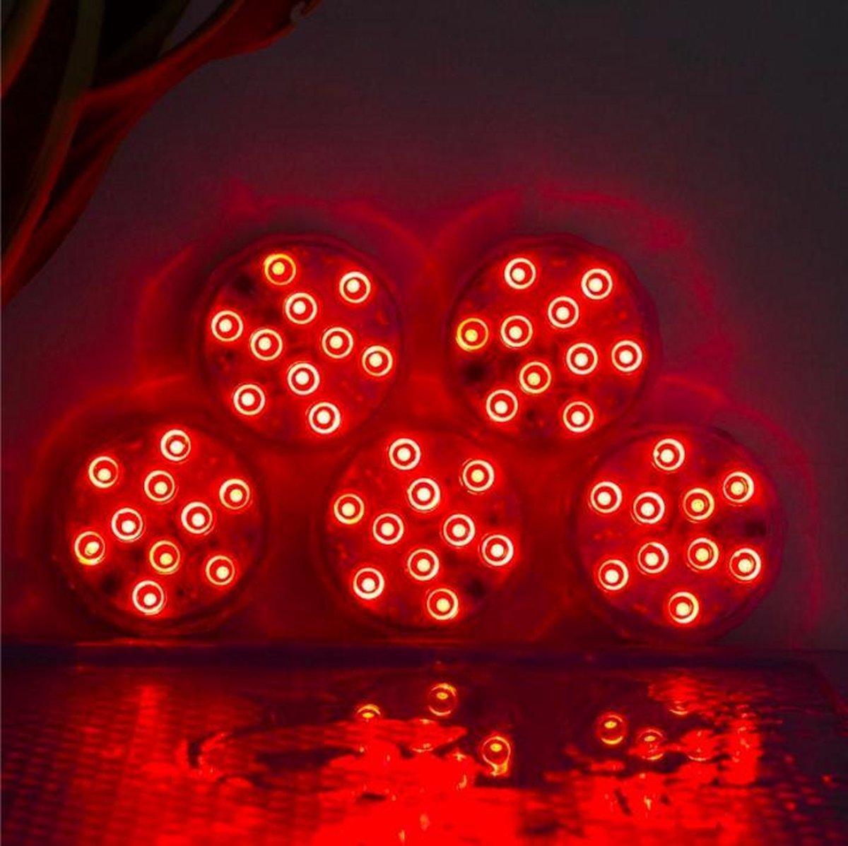 Zwembad Verlichting Waterbestendig 2021 editie - LED Verlichting Onderwater - Licht voor Onderwater - Decoratie Licht + Afstandsbediening