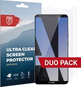 Rosso Huawei Mate 10 Pro Ultra Clear Screen Protector Duo Pack