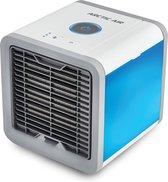 Livington Arctic Air – mobiele aircooler met waterverdampingsfilter – mini ventilator met 3 koelniveaus en 7 moodlights – luchtkoeler met tankvolume voor 8 uur