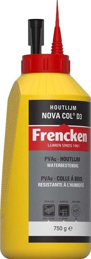 Frencken Houtlijm Waterbasis Novacol D3  - 750 gr