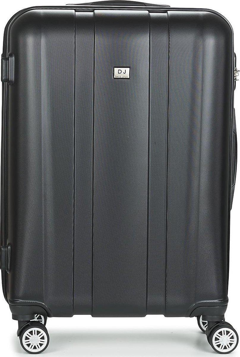 David Jones Medium Koffer - 70 cm - Cijferslot - Grijs kopen