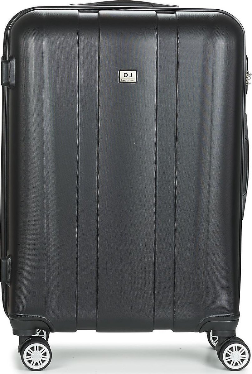 David Jones Large Koffer - 79 cm - Cijferslot - Grijs kopen