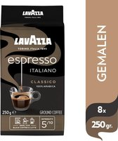 Lavazza  Espresso Italiano Classico gemalen / filterkoffie - 8 x 250 gram