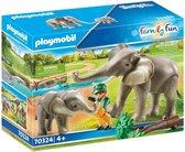 PLAYMOBIL Family Fun Olifantenverblijf - 70324