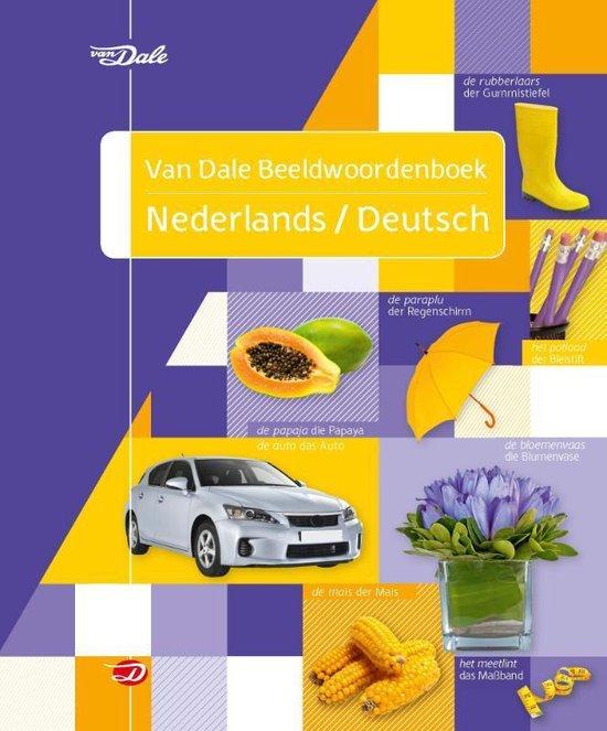 Boek cover Van Dale beeldwoordenboek  -   Van Dale beeldwoordenboek Nederlands/Deutsch van Hans de Groot (Paperback)
