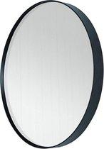 Spinder Design Donna 3 - Spiegel - Rond 60x5 cm - Zwart