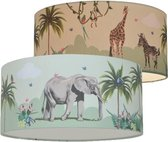 Land of Kids Jungle Lamp - Giraffe en Zebra