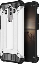 Let op type!! For Huawei  Mate 10 Pro Magic Armor TPU + PC Combination Case(White)