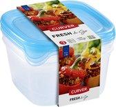 Set Fresh&Go Vershouddozen Vierkant 3X1,2L