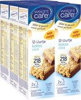 Weight Care 12-uurtjes Maaltijdrepen - Kokos - 6 x 2 stuks