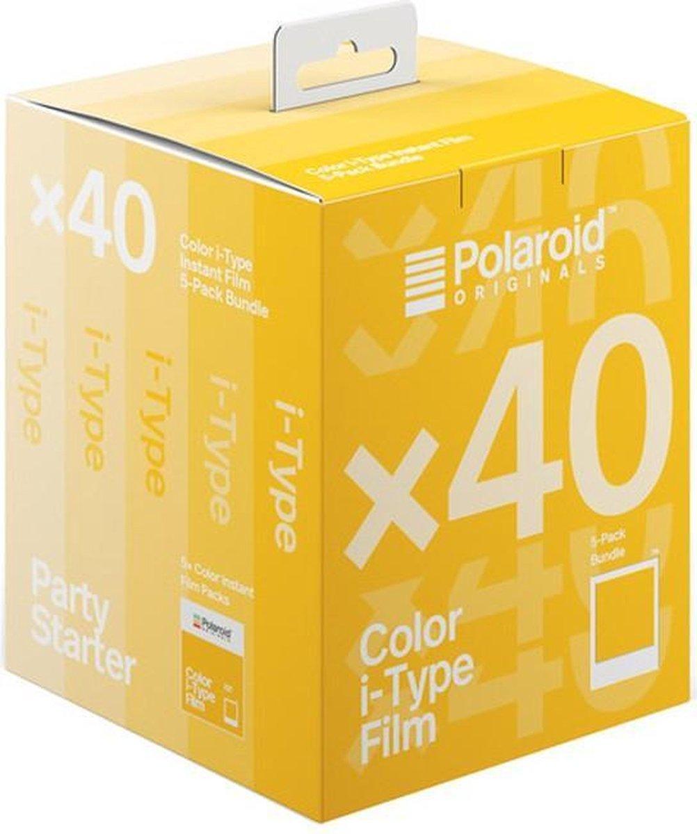 Polaroid Color i-Type Film Multipack - 5x8 stuks