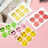 60 Mug werende stickers voor kinderen vanaf 0 jaar - 100% veilig