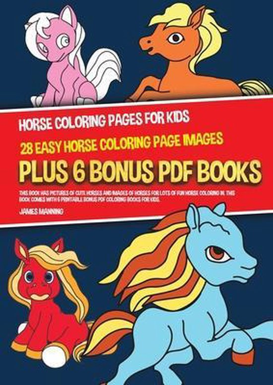 Horse Coloring Pages for Kids (28 Easy Horse Coloring Page Images)