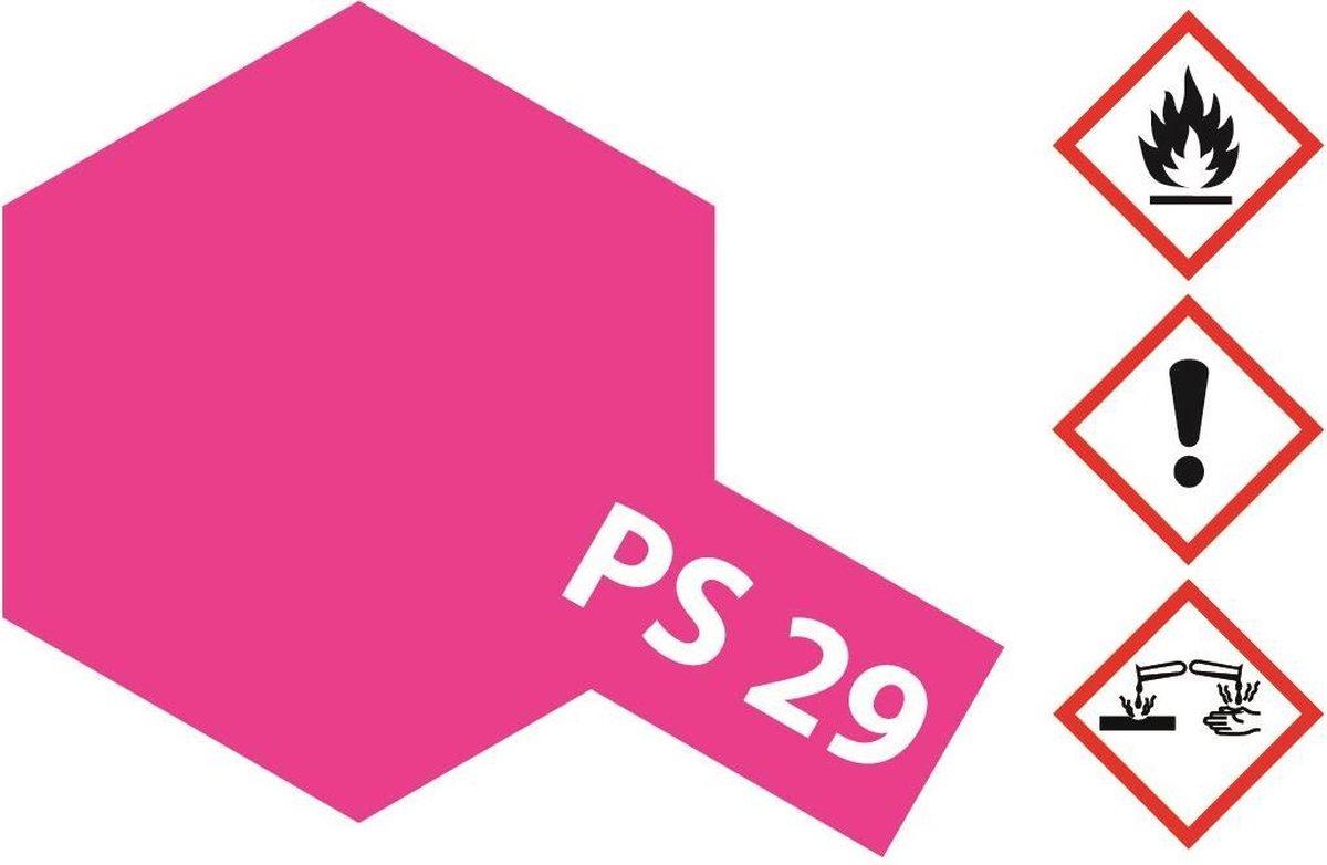 TAMIYA PS-29 Fluor roze (spuitbus 100ml)